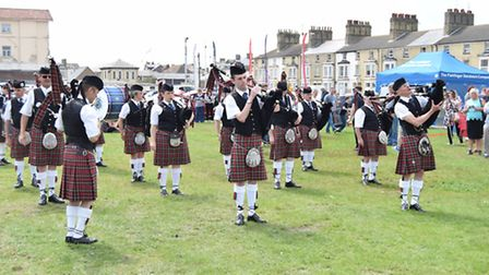 Armed Forces Day 2016 in Lowestoft.