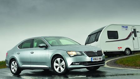 Skoda Superb 2.0 TDI hatchback won overall Tow Car of the Year 2016.