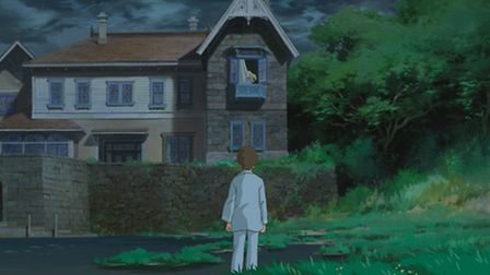 When Marnie Was There - the mysterious girl at the window.
