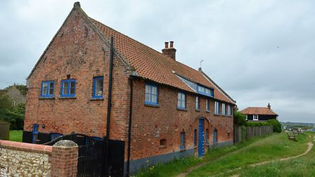 The house at Burnham Overy Staithe which inspired the mysterious story off Anna and Marnie. Picture: