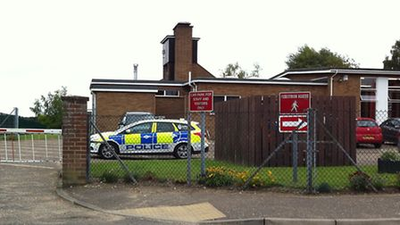 Police are investigating an unexplained death in Thetford.
