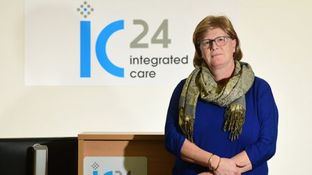 IC24 111 call centre. Yvonne Taylor.Picture: ANTONY KELLY