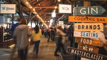 The UK's largest gin festival returns to Norwich this weekend. Photo: Gin Festival