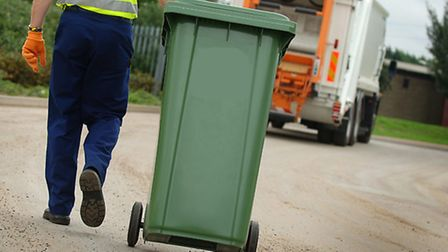 People in Norwich may have to pay £40 if they lose their bins. Photo: Archant Library
