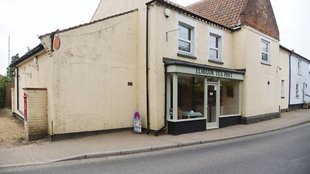 Postmaster Ben Grainger has converted part of the post office at North Emham into a cafe. Picture: I