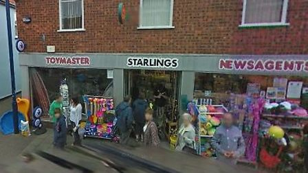 The Post Office branch at Starlings toy shop in Sheringham.