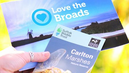 Love the Broads scheme where visitors have been donating to charity for broads projects.Carlton Mars