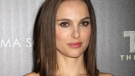 """Actress Natalie Portman attends the screening of """"Thor: The Dark World"""". Photo by Greg Allen/Invisi"""