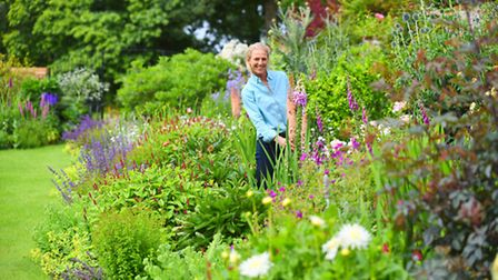 Sara Stock is preparing for Ringstead's open gardens day this weekend. Picture: Ian Burt