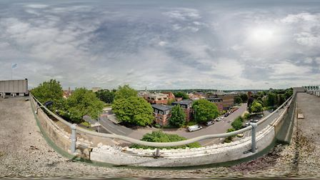 Panoramic shot from the top of Prospect House. Picture Elmulgraphic