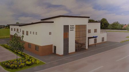 A computer generated image of the new Cromer medical centre. Picture: MARK BULLIMORE