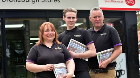 Dickleburgh Stores and Post Office reopens after the extensive renovation and refurbishment of the o