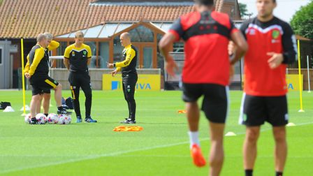 Alex Neil is looking to equip Norwich City for a Championship promotion push. Photo : Steve Adams