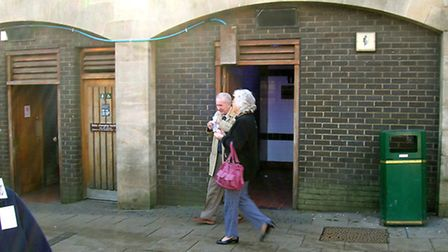 The toilets at Norwich Market. Photo: Archant