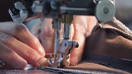 Sewing Room ,Multiyork Furnture Factory at Thetford,NorfolkPhoto: Jerry DawsCopy: ©Archant Photograp