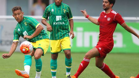 Louis Ramsay in action during the pre season friendly match at Silberstadt Arena, SchwazPicture by P