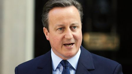 Prime Minister David Cameron speaks outside 10 Downing Street, London, where he announced his resig