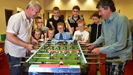 Sunbeams play- which supports families who have children with autism has set up a new lego club. Par