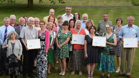 The winners of the 2016 Community Biodiversity awards. Picture: DENISE BRADLEY