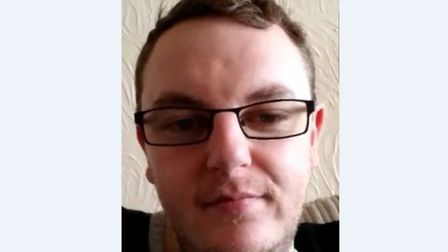 Carl Morgan has been reported missing from the Snape Drive area in Lowestoft.