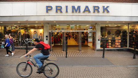 The Primark store at the Haymarket, Norwich. Picture: DENISE BRADLEY
