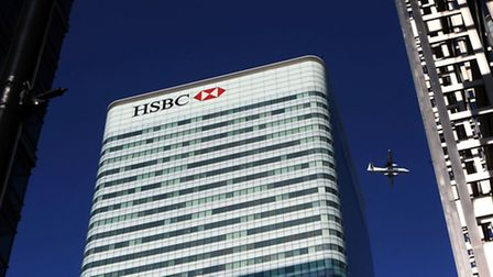 File photo dated 07/03/11 of the HSBC Tower in Canada Square, Canary Wharf, London, as a US report c