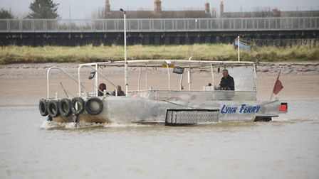 The ferry service between King's Lynn and West Lynn. Picture: Ian Burt