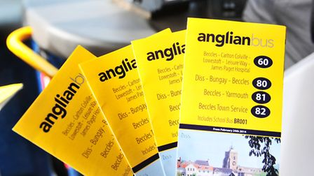 Anglian Bus route.