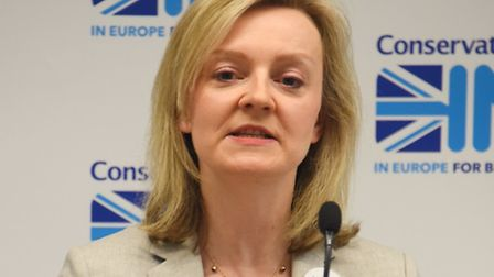 The launch of the Conservatives In referendum campaign for East Anglia. Liz Truss, MP for South West