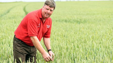 James Chapman of Clarkes Farm in Martham, which has won the 2016 Norfolk Farm Business Competition.
