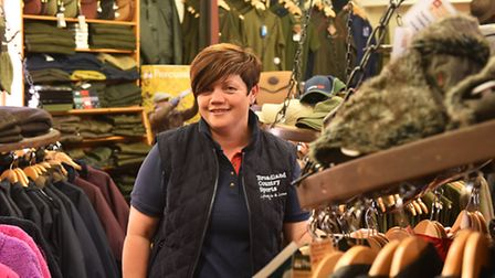 Donna Chapman at the Broadland Country Sports store in Martham. Picture: James Bass