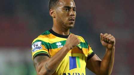 Elliott Bennett during his days at Carrow Road. Picture by Paul Chesterton/Focus Images Ltd