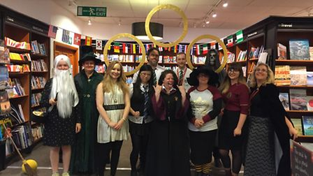 Night launch of Harry Potter and the Cursed Child at Waterstones in Norwich. Picture Rayna So
