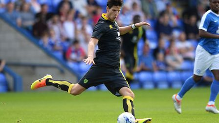 Timm Klose aims to get the most of out of Saturday's pre-season finale against Hannover 96. Picture
