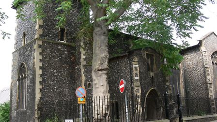 Renovation work has been completed to St Peter's Church, Hungate.