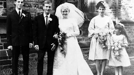 NATIONAL EXPRESS - 45 YEARS OLDPictured the August 7th 1965 Wedding Photo Album of Brian Lewis & Pat