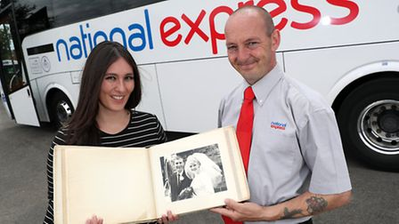NATIONAL EXPRESS - 45 YEARS OLDPictured are Rosalyn Golds Head of Media National Express & Shaun Ste