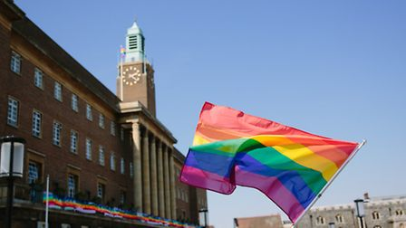 Shots from Norwich Pride Parade 2014