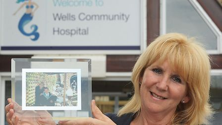 Jacqui Page is setting a up a charity at Wells Community Hospital to help people cope when someone c