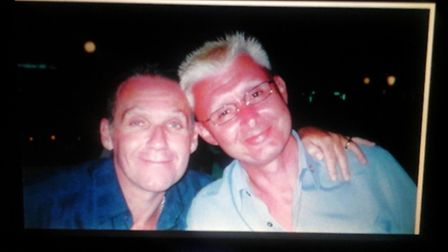 Anthony Forster (right) who died in February 2016. The NSFT launched an investigation into his death