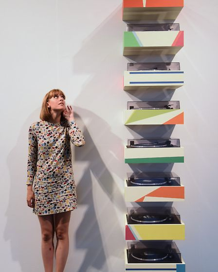 Part of the British Art Show 8 exhibition at the Norwich University of the Arts. Vicky Brooke listen
