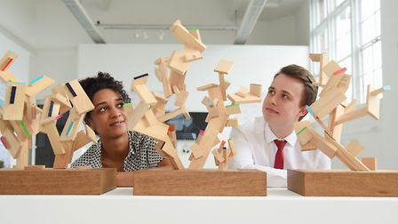 Part of the British Art Show 8 exhibition at the Norwich University of the Arts. Jade Anderson and C