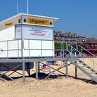 The RNLI lifeguard base at Lowestoft beach. Picture: MICK HOWES