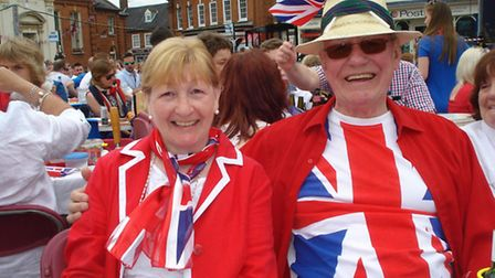 John Bowhill with wife Wendy now. Submitted