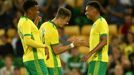 Jacob Murphy and Josh Murphy were both on target in Norwich City's 3-0 friendly win over Coventry Ci