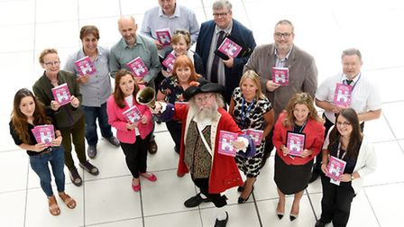 Heritage Open Days organisers assembled to launch the new HODs brochure. Photo : Steve Adams
