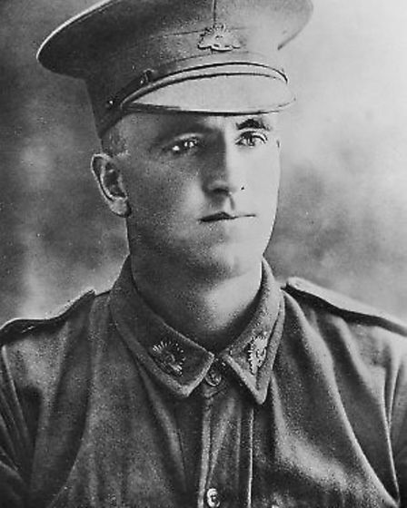Claud Castleton, from Lowestoft, who was awarded the Victoria Cross in the first world war
