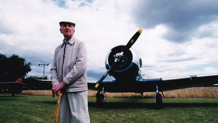 Stefan Zolkowski-O'dell at 93rd Bomb Group Museum, August 1999