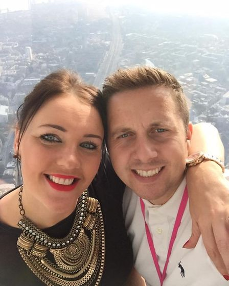 James Thorpe was left paralysed after a freak accident on his stag do. James Thorpe and his fiancee