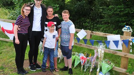 The family of Scott Smith pay tribute to him one-year after he died in a road crash.Donna Elivin (si